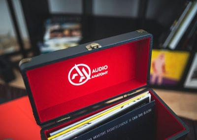 Werbefoto für Audio Anatomy