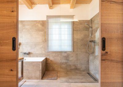 Badezimmer in der Winzarei