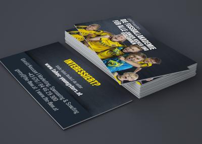 Visitenkarte für Jugendfußball Verein LAHÖ Youngsters