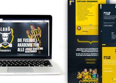 Design und Umsetzung Webseite