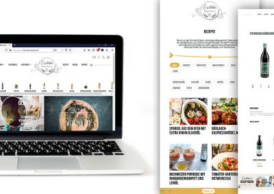 Design und Umsetzung Webshop by The Flow