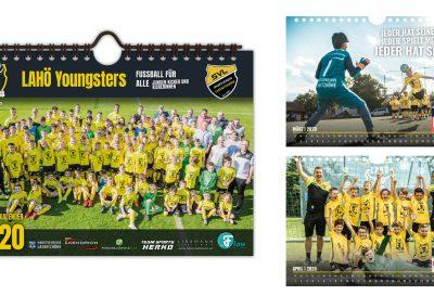 Design Fotokalender für Fußballverein