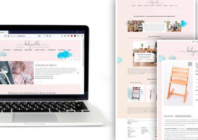 Design & Umsetzung Webshop The Flow Marketing KG