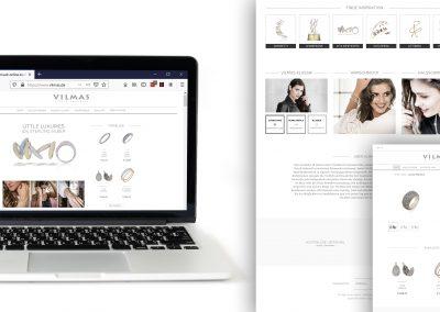 Design Entwurf Webshop The flow Marketing KG